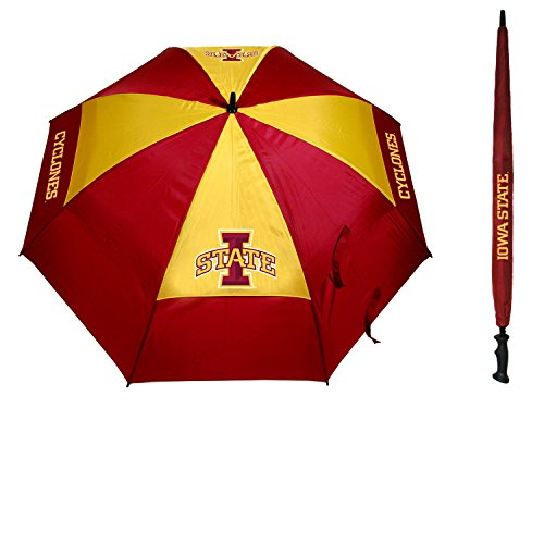 Team Golf Iowa State Cyclones Official NCAA 62 inch Umbrella by 259691 by Team Golf