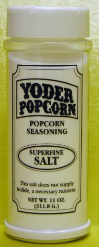 Superfine Popcorn Salt (Yoder's) - 11 oz