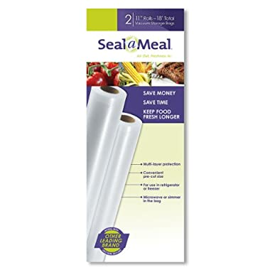 Seal-A-Meal 11-Inch by 9-Foot Rolls, 2pk