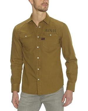 G-Star Aero Arizona Long Sleeve Shirt - Butternut (Mens)