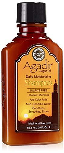 AGADIR Argan Oil Daily Moisturizing Shampoo, 2.25 Oz