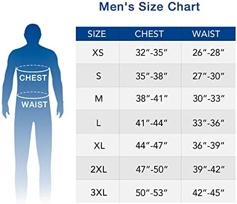 LAPASA Thermal Underwear for Men Long John Set Fleece Lined Base Layer Top and Bottom M11