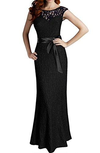 long black and white bridesmaids dresses - 6