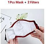 TSSPLUS Mask Activated Carbon Filter Respirator