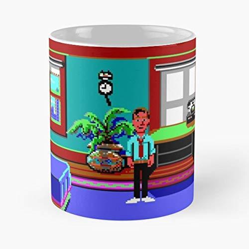 Zak Mckracken Alien Mindbenders 03 Maniac - Best Gift Ceramic Coffee Mugs 11 Oz