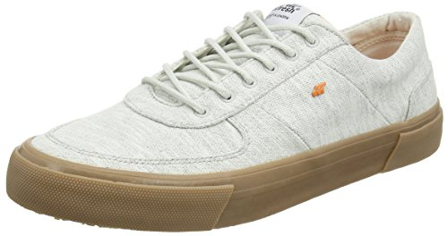 Ackroyd Hommes Boxfresh Bch Jrsy Lt Gry / Org Sneakers Bas Top Gris (gry / Org)