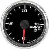 Speedhut GR26-BS05 Boost Gauge 0-15psi (With Warning LED), 2-5/8''