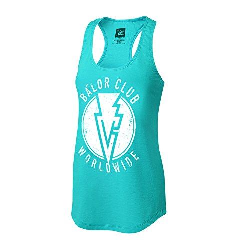"""WWE Finn Bàlor """"Bàlor Club Worldwide Women's Tank Top Light Blue Large by WWE Authentic Wear"""