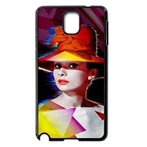 Audrey Hepburn Use Your Own Image Phone Case for Samsung Galaxy Note 3 N9000,customized case cover ygtg-785949 hjbrhga1544