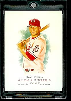 2007 Topps Allen & Ginter # 77 Ryan Freel Cincinnati Reds Baseball Card