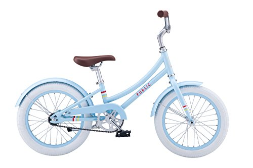 "PUBLIC Bikes C1 Dutch Style Frame Kids Bike, 16""/Small/Mediu"