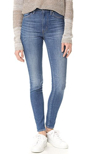 [Levi's Women's Mile High Super Skinny Jeans, Shut the Front Door, 28] (Front Skinny Jeans)