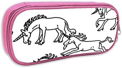 Estuche de lápices Infantil,Libro para Colorear Unicorns_4767, Rosa: Amazon.es: Juguetes y juegos