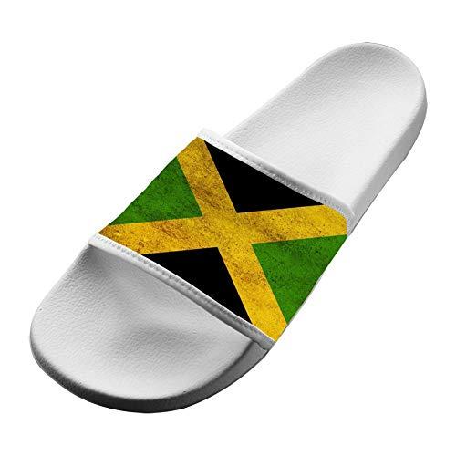 SsSEYYA Anti-Slip Indoor Floor Sandal Bath Slipper Jamaica Flag for Women Men White Men 8 (M) US (Sonnenbrillen Online Shop)