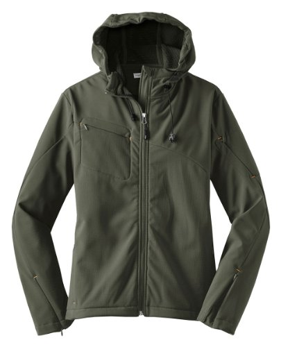 - Port Authority Textured Hooded Soft Shell Jacket. J706 [Apparel]