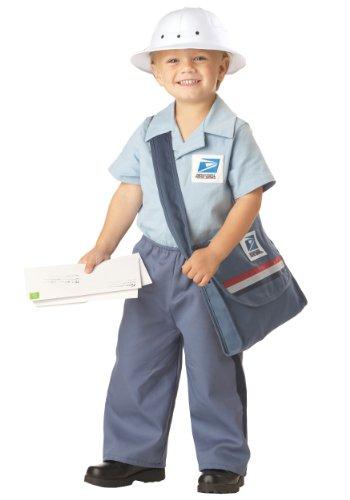 Mr. Postman Toddler Costume, Large, One Color