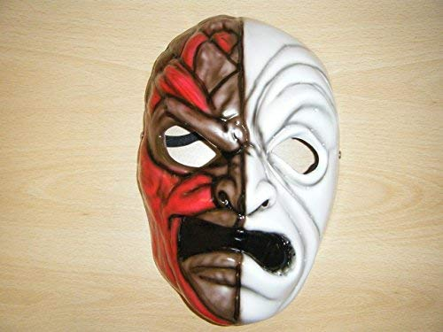 WRESTLING MASKS UK Men's Hollywood Undead Da Kurlz Mask One Size Multicoloured