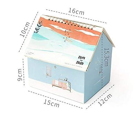 Calendario 2020, colección de calendario de mesa pequeño creativo ...