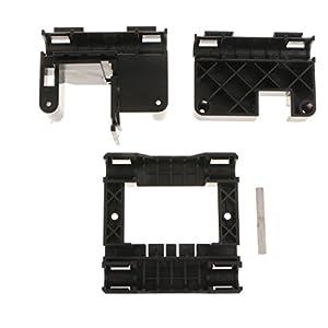 MagiDeal Full Set Plastic Parts Kit For Makerbot Replicator 3D Printer MK8 MK7 ABS by MagiDeal