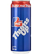 Thums Up Regular Carbonated Soft Drink , Can - 330 ML (Pack of 6)