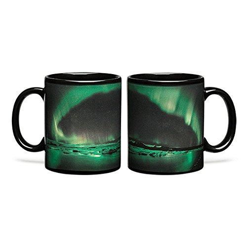- Aurora Borealis Heat Changing 12oz Coffee Mug gift