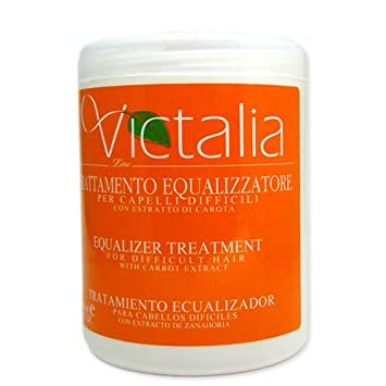 Victalia Equalizer Treatment for Difficult Hair with Carrot Extract 50 Oz.