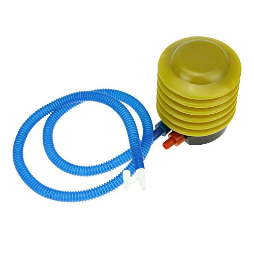 BXT Small Plastic Bellows Swimming Pool Float Foot Pump Inflator Inflatable Toy Easy Air Hand Foot Pump Compressors First Aid Kit for Air Balloon Yoga Ball Raft Fish Tank Mattress Tire Inflatable