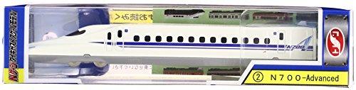 【NEW】 train N게이지 다이캐스트 스케일 모델 No.2 N700-Advanced