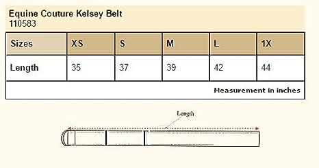 Purple Large Equine Couture Ladies Kelsey Belt