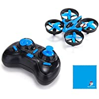 JJRC H36 Mini Drone 2.4G 4CH 6Axis Gyro Headless Mode Remote Control RC Quadcopter RTF One-key Return-Blue