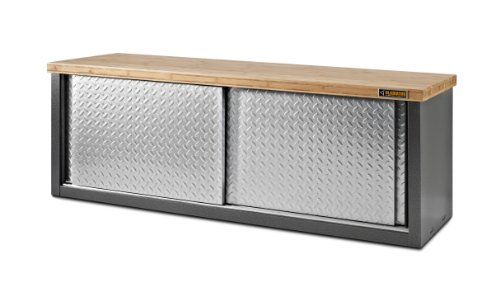 Amazon.com: Gladiator GarageWorks GAGB54SBYG Storage Bench: Home Improvement