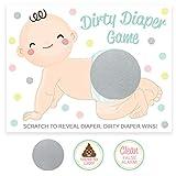 Dirty Diaper Scratch Off Game, 30 Cards, Raffle