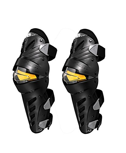 SCOYCO K17 Adults Fashion Knee knee pads Body Armor Protect Guard Pads Accessories with Plastic Cement Hook for Motorcycle Motocross Racing/One Size