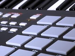 Akai Professional MPK25 25-Key USB MIDI Keyboard Controller with MPC Pads