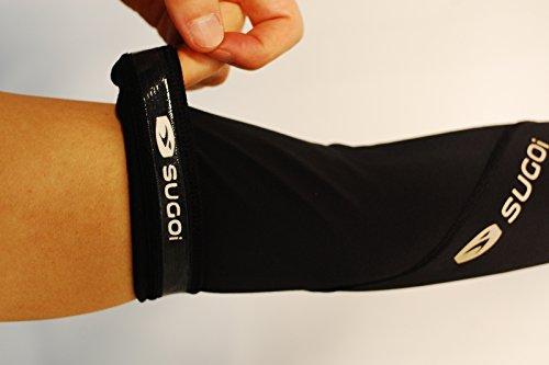 Sugoi Mid Zero Arm Warmer (Black, Medium)