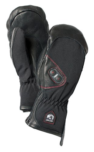 Hestra Power Heater Mitt, Black, 7/Small (Hestra Heated Gloves compare prices)