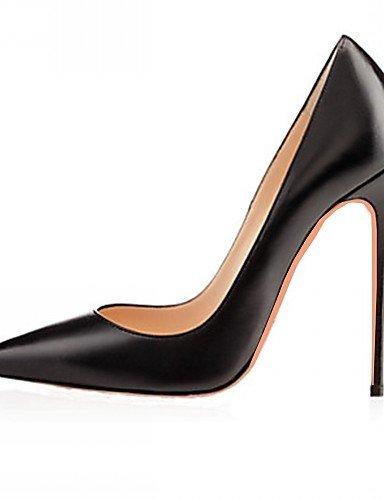 ZQ Zapatos de mujer-Tac¨®n Stiletto-Tacones-Tacones-Boda / Oficina y Trabajo / Vestido / Casual / Fiesta y Noche-Microfibra / Cuero Patentado- , red-us11 / eu43 / uk9 / cn44 , red-us11 / eu43 / uk9 / burgundy-us9 / eu40 / uk7 / cn41