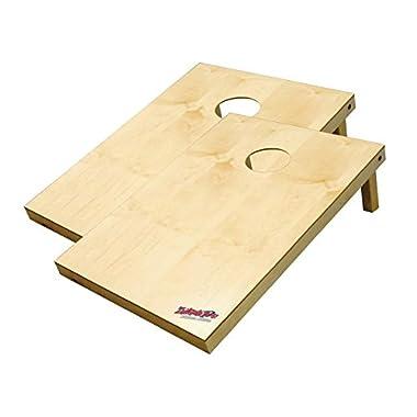 Wild Sports 2x3 Wooden Platinum Tailgate Toss Cornhole Set