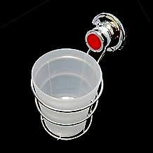 Stainless Wire & Cylinder Basket Suction Cup Detachment Bathroom Storage Holder