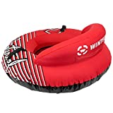 Winterial Inflatable Snow Sled Tube - Deluxe