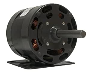 Fasco D1006 4.4-Inch Diameter Shaded Pole Motor, 1/4 HP, 115 Volts, 1600 RPM, 1 Speed, 7.2 Amps, CW Rotation, Sleeve Bearing