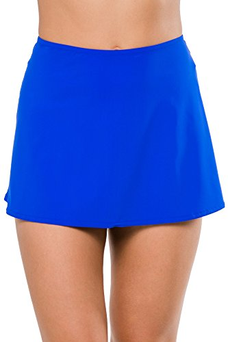 Karla Colletto Women's Basic Skirt Swim Cover Up Cobalt S by Karla Colletto