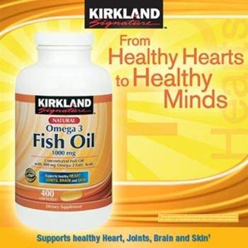 フォルダ乗って支給KIRKLAND社 フィッシュオイル (DHA+EPA) オメガ3 1000mg 400ソフトカプセル 3本 [並行輸入品] [海外直送品] 3 Bottles of KIRKLAND's Fish Oil (DHA + EPA) omega-3 1000mg 400 soft capsules [parallel import goods] [overseas direct shipment product]