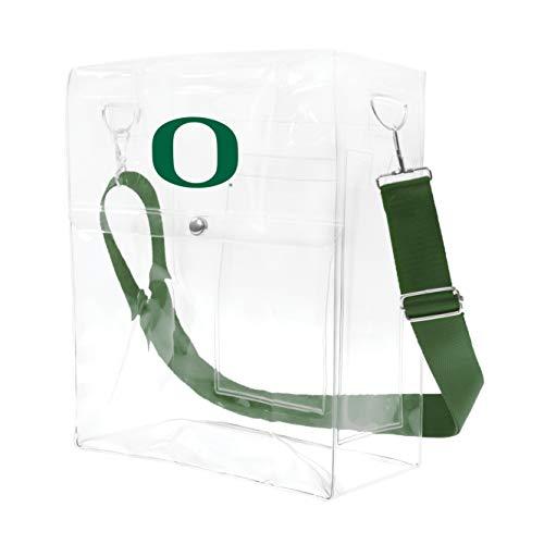Littlearth NCAA Oregon Ducks Clear Ticket Satchel ()