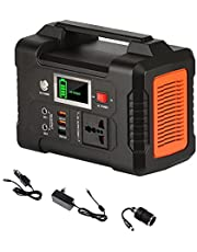 200-240V 200W Portable Solar Generator, 40800mAh Battery Charger Solar Power Station, 151Wh Outdoor Energy Power Supply
