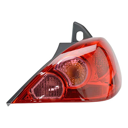 Rear Brake Light Taillight Lamp Right RH Passenger for 07-12 Versa Hatchback ()