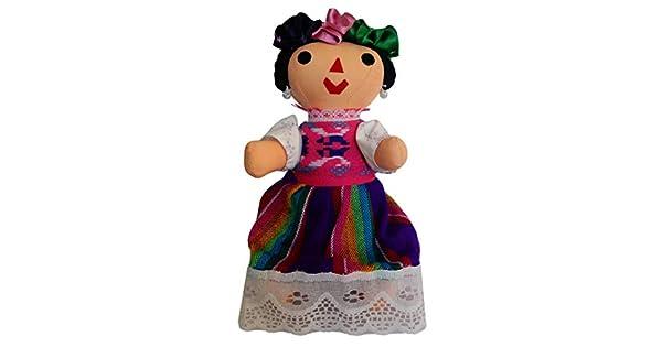 Amazon.com: Juana Bartolo - Muñeca maria mexicana hecha a ...