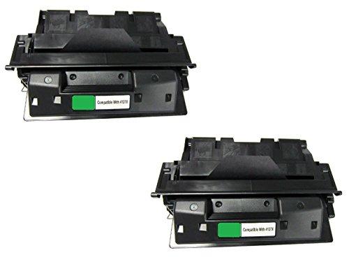 Laserjet 4000 Series Yields - JSL 2pk C4127x 27x High Yield Toner Cartridge For HP LaserJet 4000 4050 series
