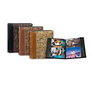 """Pioneer Normandy Series, Bound Photo Album with Designer Color Covers, Holds 208 4x6"""" Photos, 2 Per Page."""