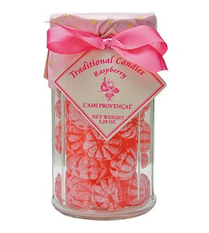 Raspberry French Hard Candy L'Ami Provencal Hard Candy 5.3 oz